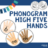 Phonogram Cards : High Five Hands for Phonogram Games and Display