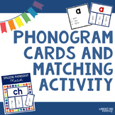 Phonogram Cards and Matching Activity