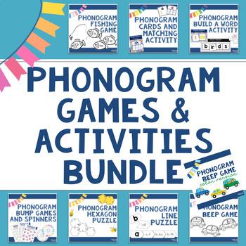 Spalding Phonogram Game and Activity Bundle