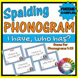 Spalding Phonogram Game I have, Who has? (Freebie Sampler for Phonograms 1-23)