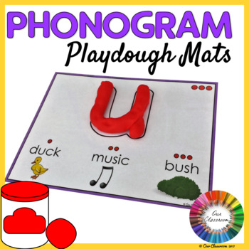 Spalding Phonogram Playdough Mats (Single Letter)