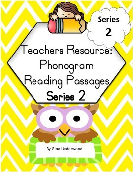 Spalding Phonogram Reading Passages-SERIES 2