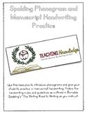 Spalding Phonogram and Manuscript Handwriting Practice