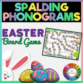 Easter Spalding Phonograms Board Game