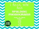 """Spalding Phonograms """"I have..., Who has..."""" Practice Game 1-70"""