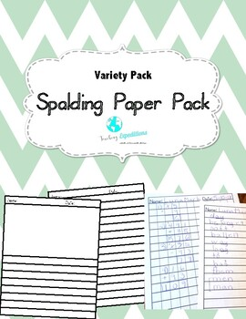 Spalding Primary Paper VALUE Pack