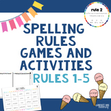 Spalding Rules Games and Activities (Rules 1 to 5)