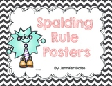 Spalding Rules Posters
