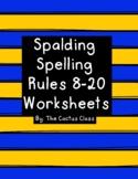 Spalding Spelling Rules 8-20 Worksheets & Activites
