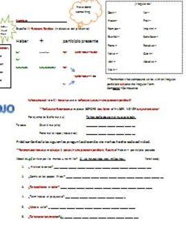 Span II & III-present perfect explanation & practice