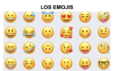 Spanish 1/2 Emoji Adjective Coloring Project (Así se dice: