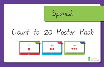 Spanish 1-20 Displays
