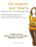 CI friendly Spanish 1 Story- present tense, relationships,