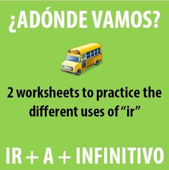 "Spanish 1 - Activities with ""ir"""