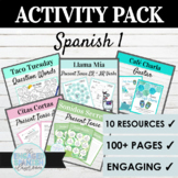 Spanish 1 Activity Sample Pack