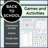 Spanish 1 - Back to School Unit Bundle - Spanish Basics, Useful Phrases, Numbers