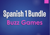 Spanish 1 Bundle:  Buzz Games