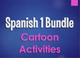 Spanish 1 Bundle:  Cartoon Activities