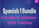 Spanish 1 Bundle:  Chutes and Ladders-Style Games