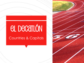 Spanish 1 Bundle:  Decathlon Games
