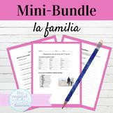 Spanish Family Vocabulary Mini Bundle