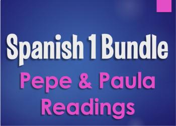 Spanish 1 Bundle:  Pepe and Paula Readings