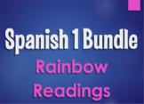Spanish 1 Bundle: Rainbow Readings