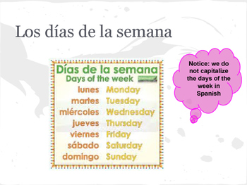 Spanish 1 Chapter 1 Vocab Practice Packet