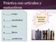 Spanish 1 Chapter 2 Grammar Slides and Practice: Ser, Gust