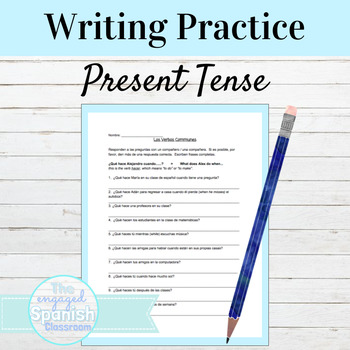 Spanish 1 Classmate Interview: Expresate 1 Chapter 3, Present Tense (verbs)