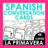 Spanish 1 Conversation Cards Spring Edition | Spanish Spea