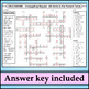 Spanish 1 - Crossword Puzzle for Conjugating Regular -AR Verbs