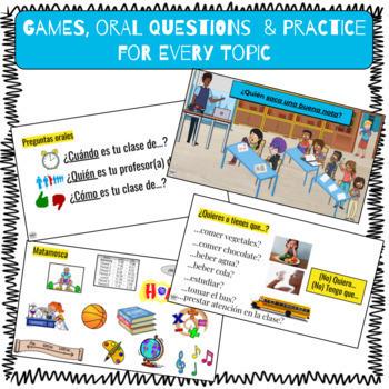 Spanish 1 Curriculum: Así se dice Chapter 3
