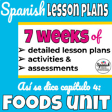 Spanish 1 Curriculum: Así se dice Chapter 4