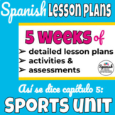 Spanish 1 Curriculum: Así se dice Chapter 5