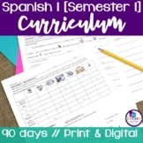 Spanish 1 Curriculum {Semester 1}