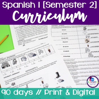 Spanish 1 Curriculum {Semester 2}