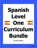 Spanish 1 Curriculum Supplements Bundle