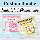 Spanish 1 Custom Grammar Bundle