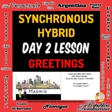 Spanish 1 Day 2 Lesson Plan A Asynchronous Plan B Hybrid,