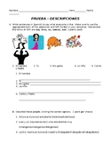 Spanish 1 Descriptions Quiz