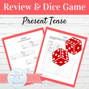 Spanish Present Tense Dice Game: El Presente Indicativo