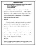 Spanish 1 Editing Practice (Writing)