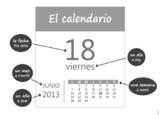 Spanish 1 El Calendario (Calendar) Set of 3 Dialogues + GAME (Realidades PE)
