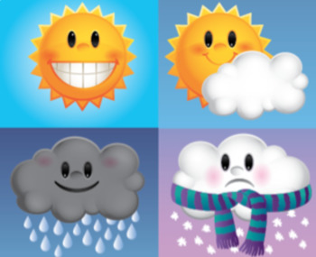 Spanish 1: El Tiempo (The Weather) Set of 2 Letters + Teaching Ideas