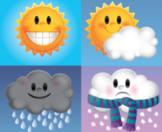 Spanish 1 El Tiempo (Weather); 2 Readings + Lesson Activities (Realidades PE)