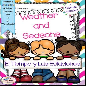 Spanish 1 El Tiempo y Las Estaciones -Weather and Seasons