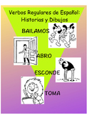 Spanish 1: Eleven TPRS Stories and Flashcards, Regular Verb PROFICIENCY BUILDER