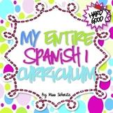 Spanish 1 Entire Curriculum - Hard Good