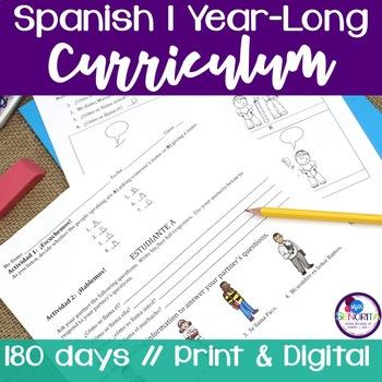 Spanish 1 Entire Curriculum
